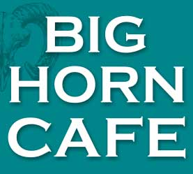 Big Horn Café in Radium Hot Springs BC - serving 49th Parallel Coffee!